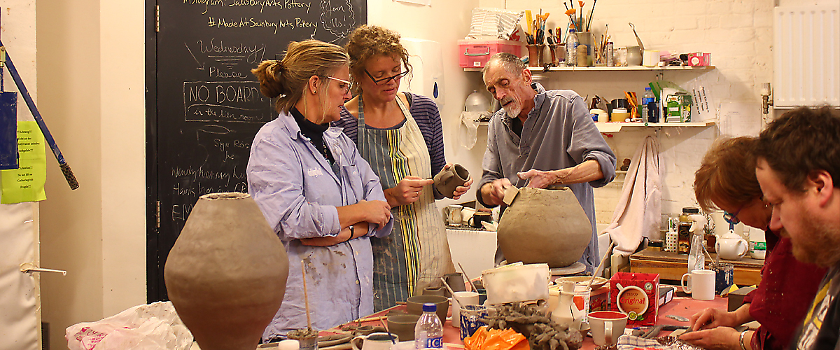 Adult Pottery Workshop