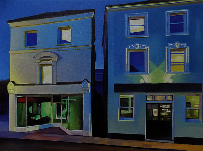 Image: Evening Street © Jane Walker  Curtesy of the Artist Jane Walker
