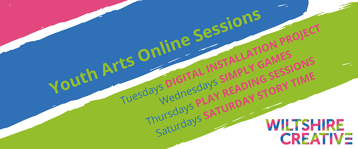 Youth Arts Online Sessions