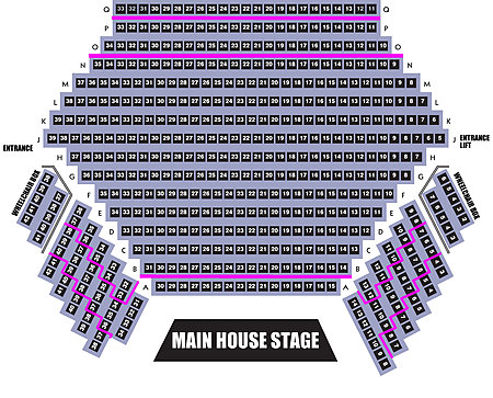 Main House seating plan