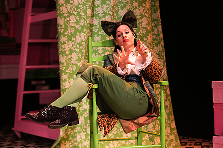 Natalie Williams in The Tailor of Gloucester. Credit Nick Spratling