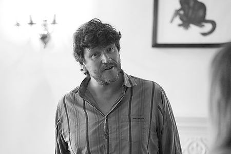 Jonathan Keeble in rehearsals Photo Credit: Leigh Lothian