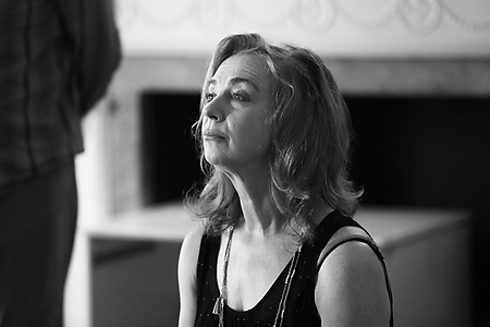 Maggie O'Brien in rehearsals. Photo credit Leigh Lothian