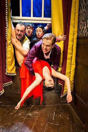 The Play That Goes Wrong. Photographer Credit: Helen Murray