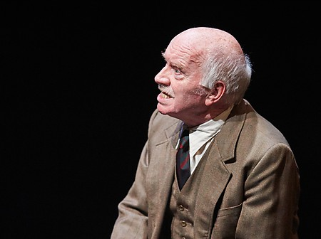 Ciaran McIntyre in Lady Chatterley's Lover. Photo by Mark Douet