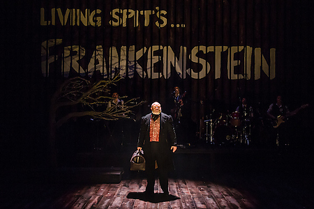 Howard Coggins in Frankenstein at Salisbury Playhouse (Credit The Other Richard)