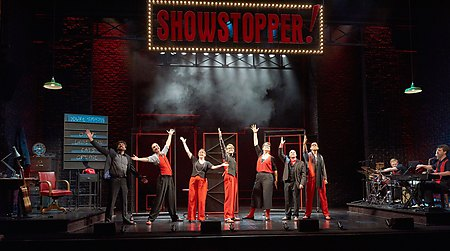 Showstopper (Geraint Lewis for the West End Apollo Theatre Production)